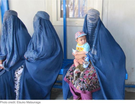 Blue Burqas